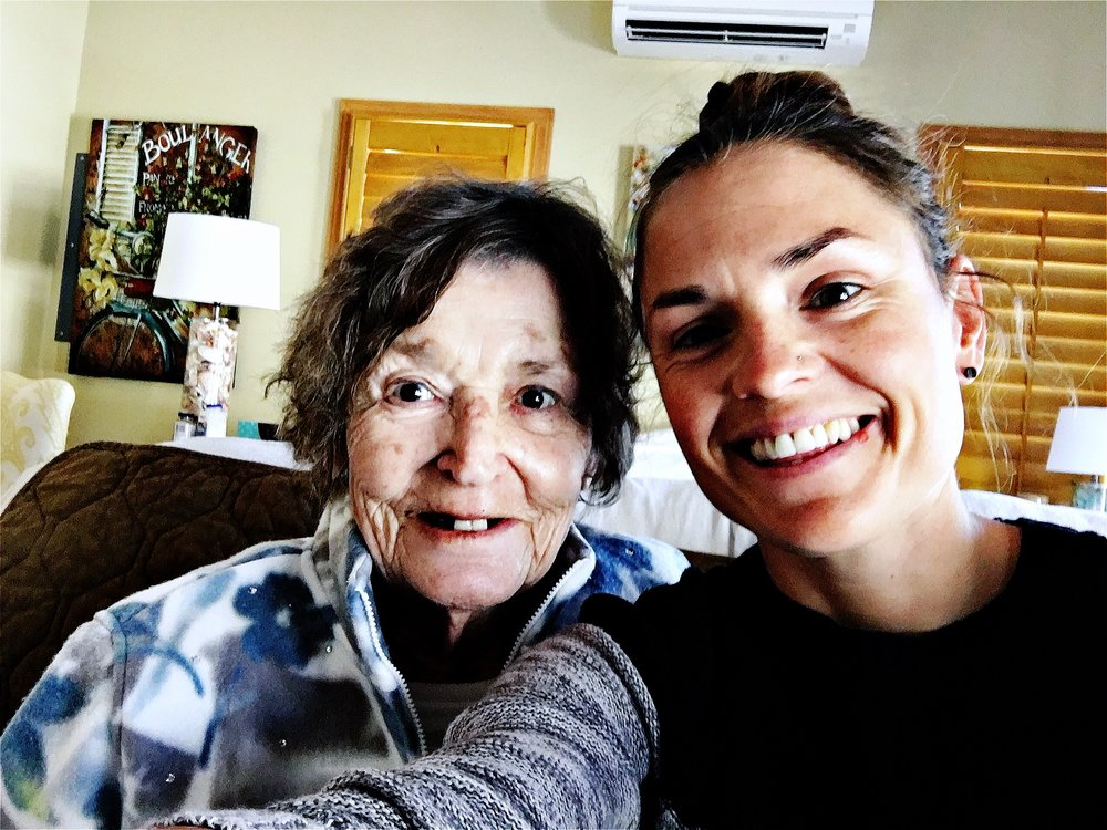 Nanny and me