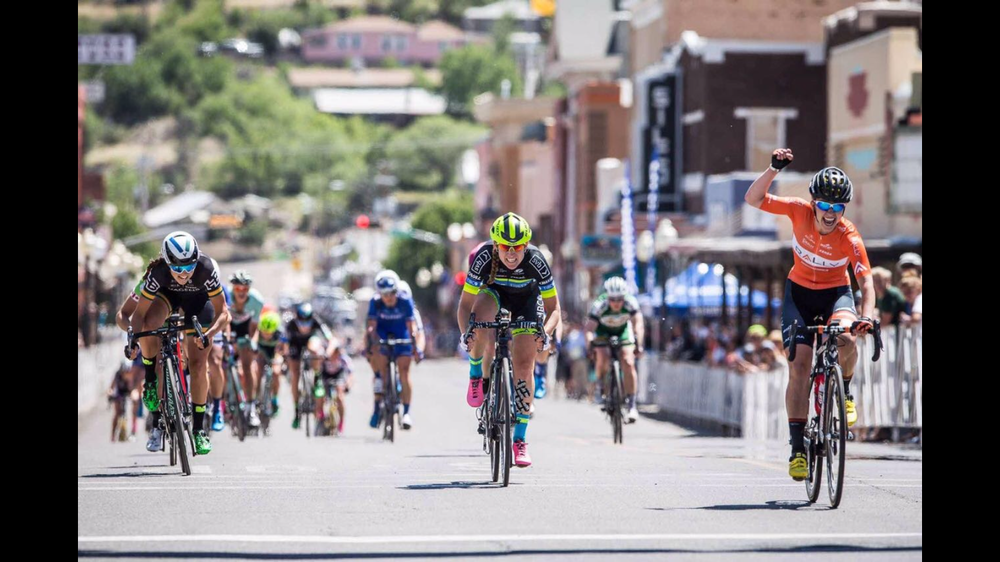 My first podium in the US- 3rd in stage 4 of Tour Of Gila