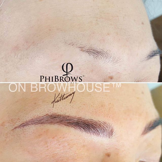 No words needed #phibrows #phibrowsartist #onbrowhouse #microblading #microbladingeyebrows #aucklandbrowspecialist #browsofinstagram Call us on 09 3361692 to book your complimentary consultation 👌🏼👌🏼👌🏼