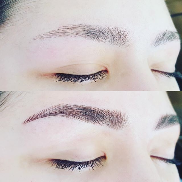 Beautiful, believable brows. Making an already good brow even better. #microblading #microbladingeyebrows #eyebrowtattoo #eyebrowsonfleek #eyebrowmicroblading #browlove #browspecialist #brows #onbrowhouse #browfeathering #aucklandbrowspecialist