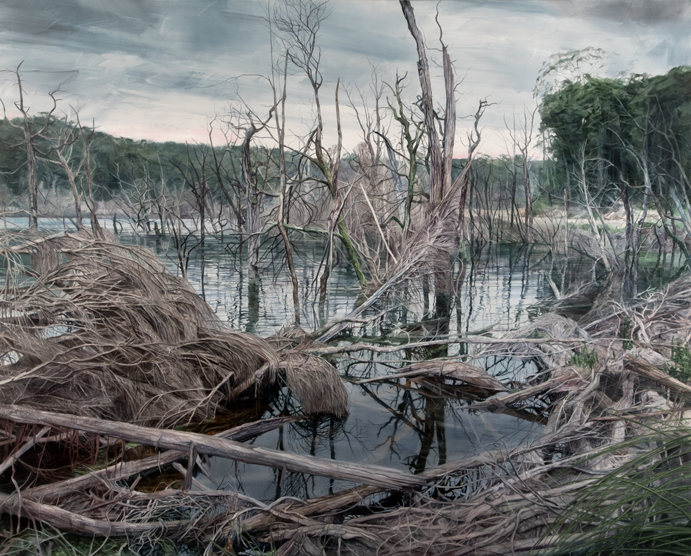 pond Requiem, oil in canvas, 164cmx204cm.jpg