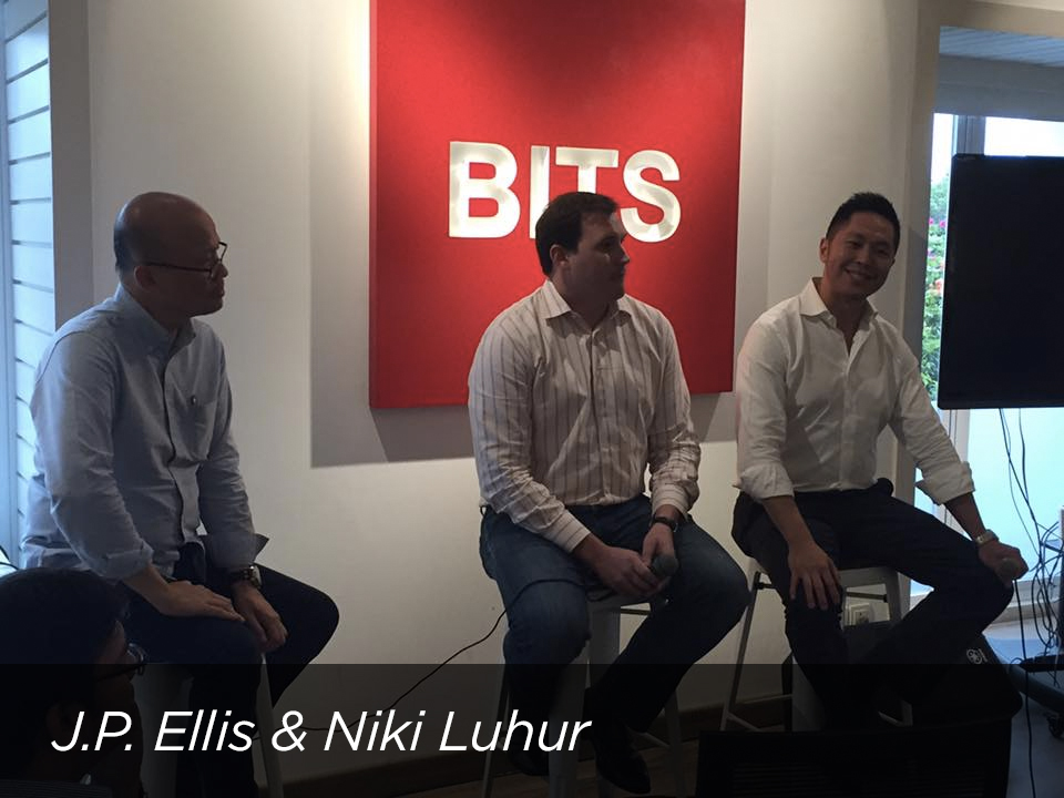 J.P Ellis ( C88 ) & Niki Luhur ( Kartuku ) shared their insights on fintech industry and ecosystem in Indonesia & Southeast Asia; new innovations, and policies on digital signatures.