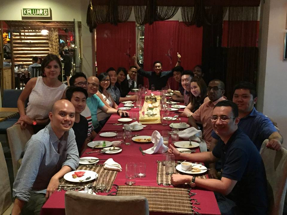 Founders' Dinner in Kuala Lumpur, Malaysia  on July 2016 with Managing Partner Peng T. Ong