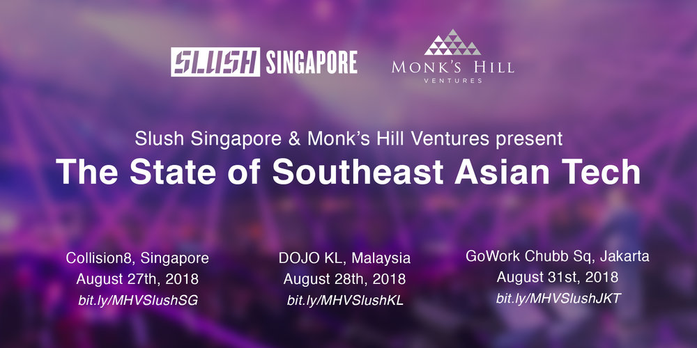 state of southeast asian tech report monks hill slush singapore
