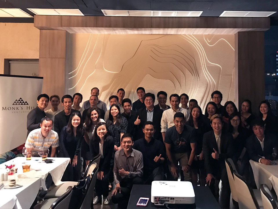 Founders' Dinner in Bangkok  on September 2018 with Reez Nordin (Partner), Michele Daoud (Principal) and June Chen (Associate)