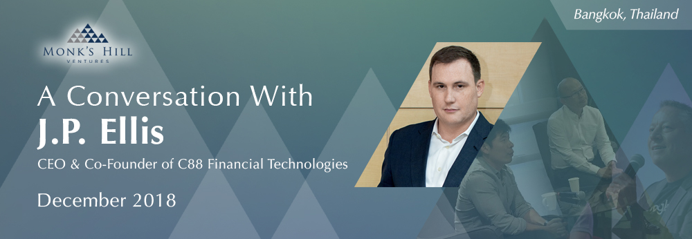 A Conversation With J.P. Ellis, CEO & Co-Founder of C88 Financial Technologies & Co-Founder of Indonesia Fintech Association, moderated by Peng T. Ong.