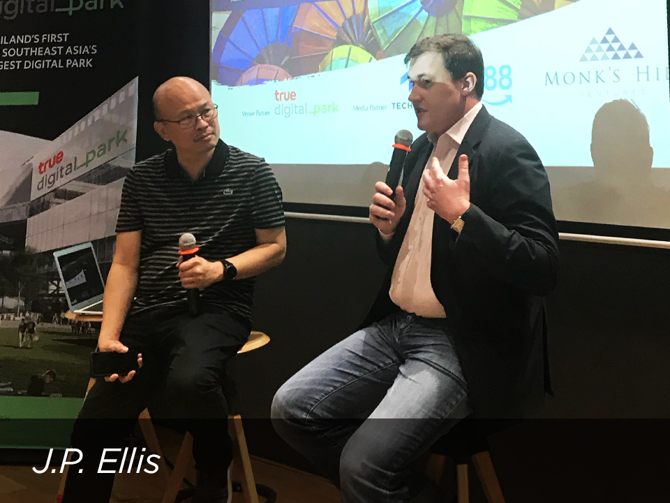 J.P.   Ellis , Co-Founder of C88 and Indonesian Fintech Association talked about scaling up business and navigating through government regulations.