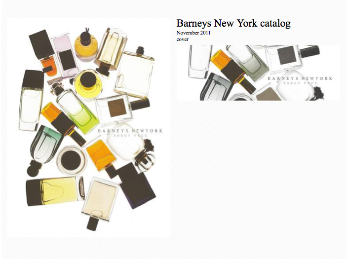 ATTACHE-MOI in the Barneys New York catalog