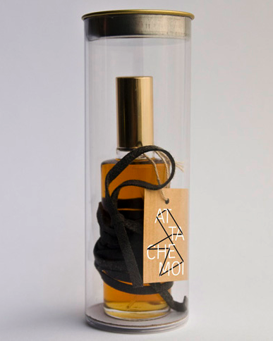 ATTACHE-MOI, eau de Parfum, first packaging, 2009 © ICONOfly