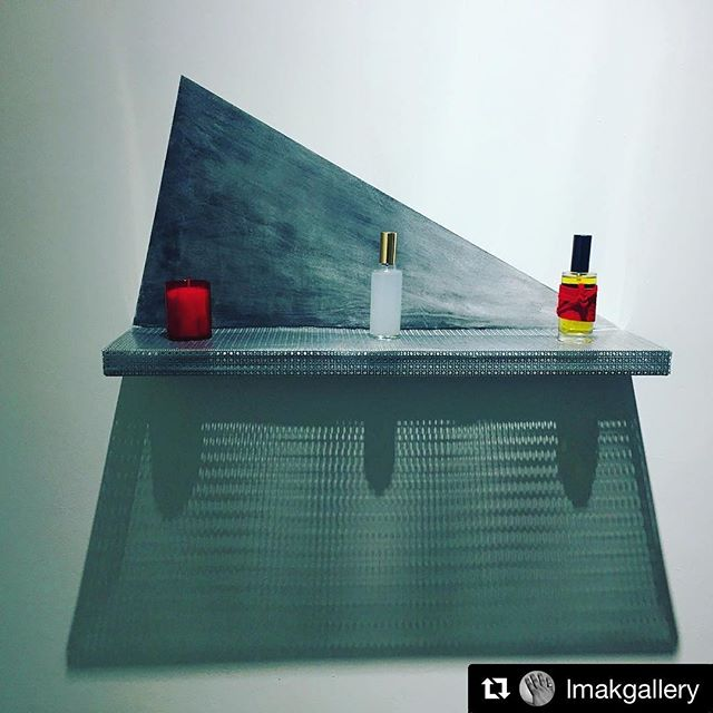 This coming Wednesday in NY 6-8pm and on view for two months #Repost @lmakgallery ・・・ #lmakbooksanddesign opening tomorrow with #oliviabransbourg #marielucenadal art meets #perfume