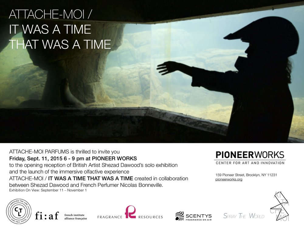 Immersive olfactive experience/ Pioneer Works Fall 2015
