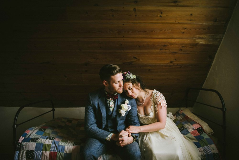 Boho country wedding in Norfolk - Meg + Tom