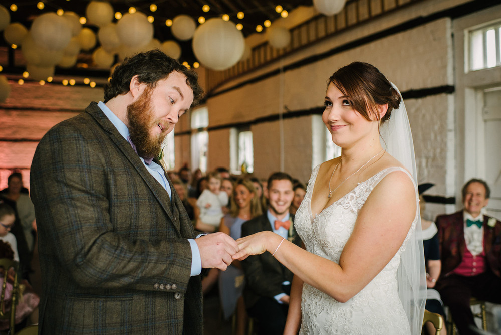 A super-fun wedding at Lillibrooke Manor - Becca and Will