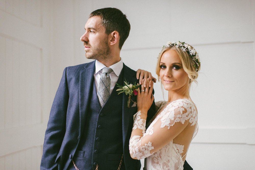 Fazeley Studios Birmingham wedding photography - Tara and Gav