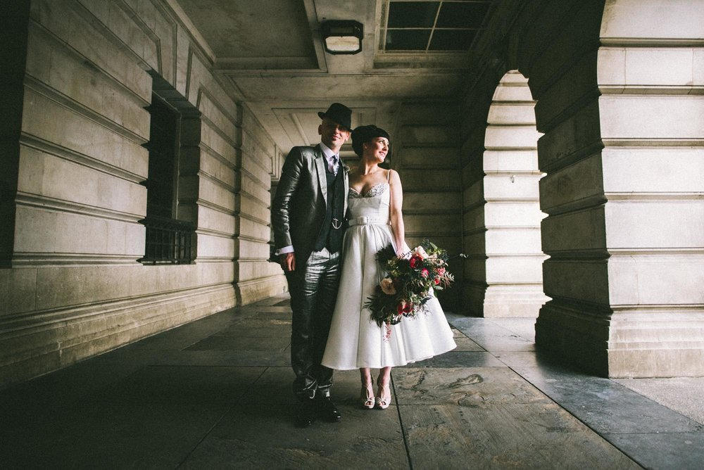 Nottingham City wedding photography - Esther and Sid
