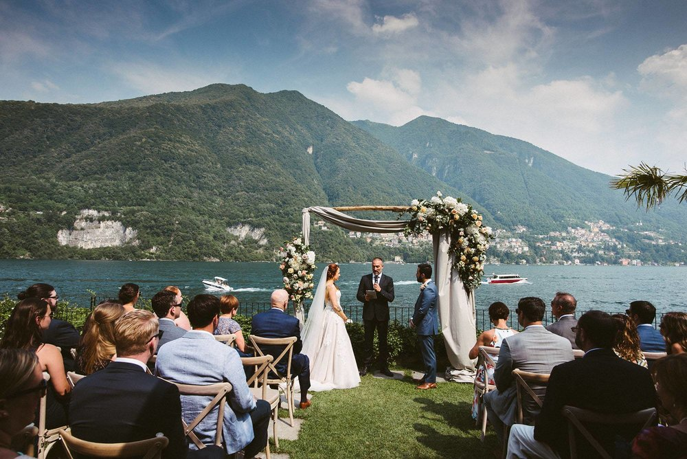 Lake Como wedding photography - Ashley and Mike