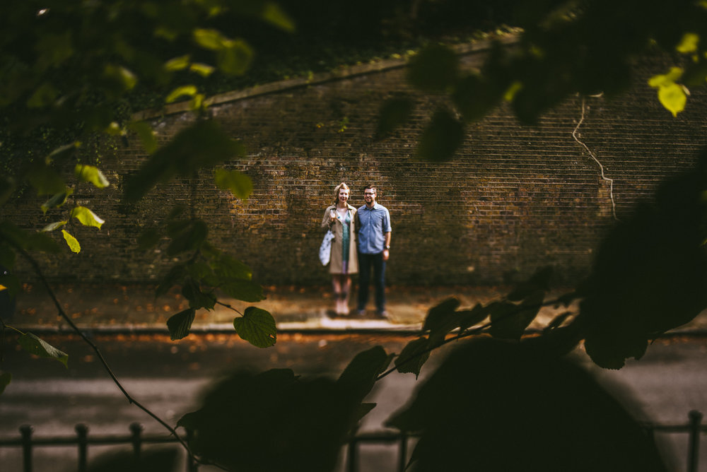 Crystal Palace pre-wedding shoot - Christina and Dan