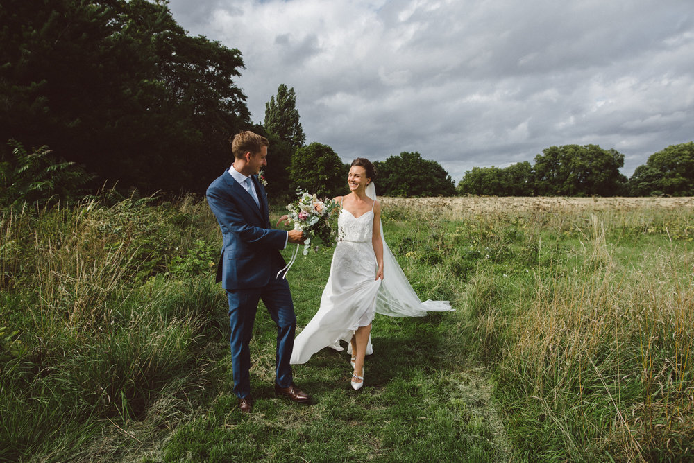 London wedding photography in Putney - Julia and Joe
