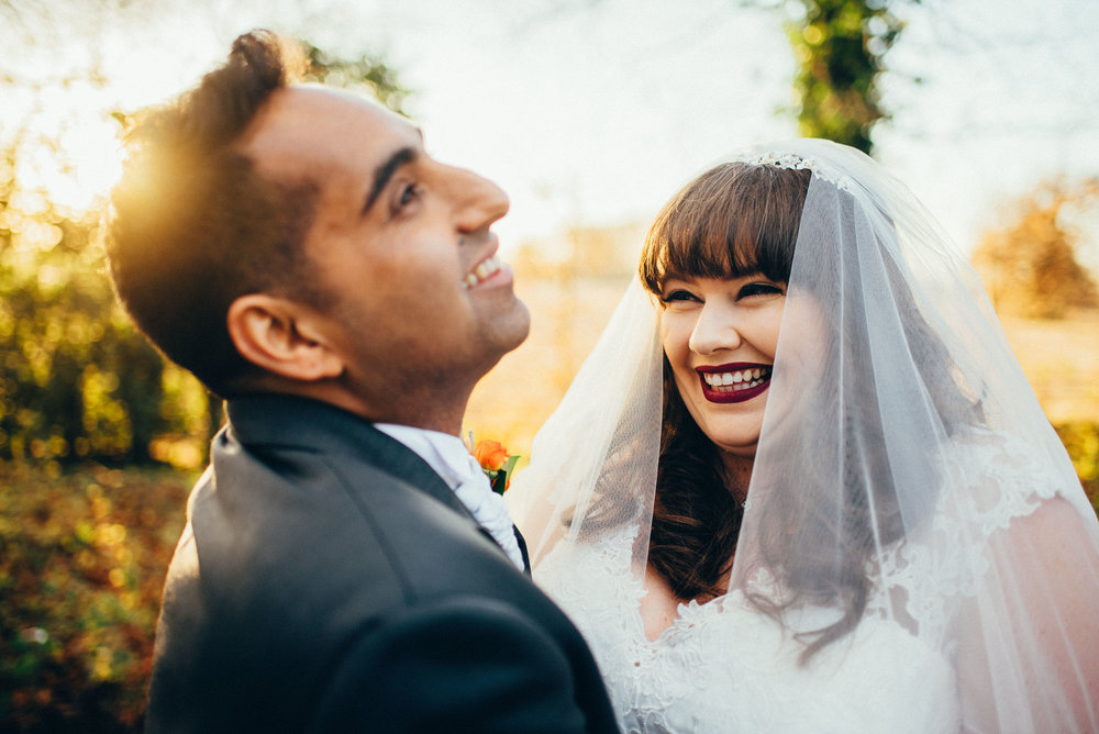 Indian wedding photography in York  - Gemma and Dipan