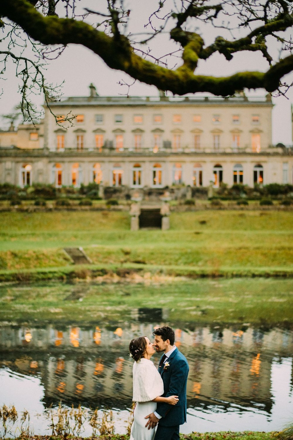 Cowley Manor wedding photography - Jenna and Simon