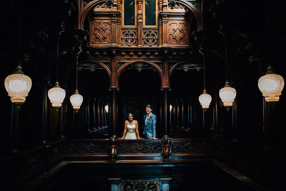 Crewe Hall wedding photography - Ramya and Ross