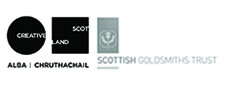 supported by Creative Scotland and The Scottish Goldsmiths' Trust