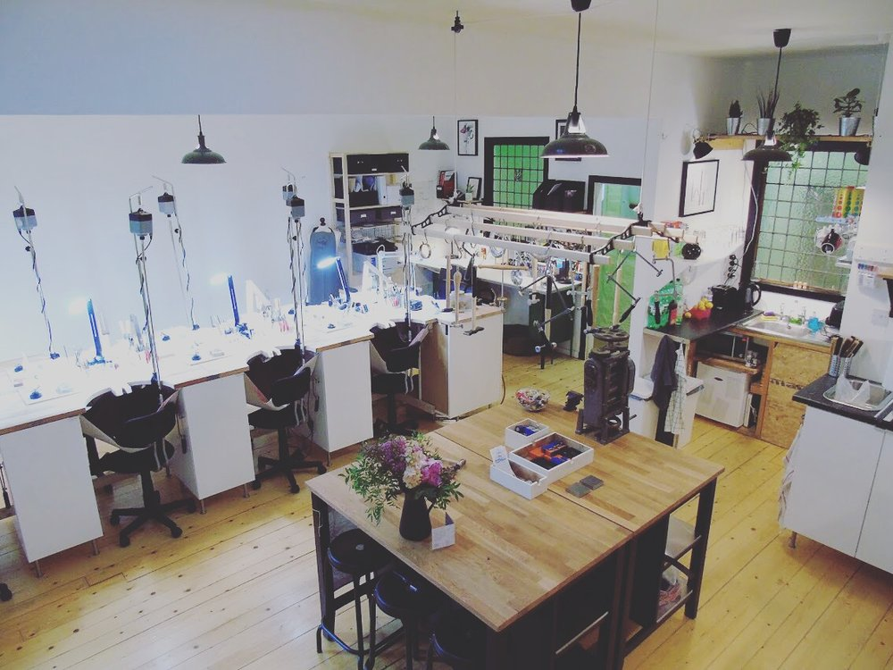 Thank you for giving us our beautiful new Jewellery School!
