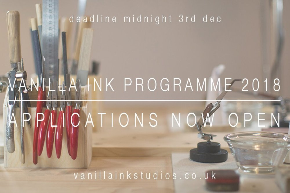 Vanilla Ink Programme launches and is open for applications from start-up jewellers.