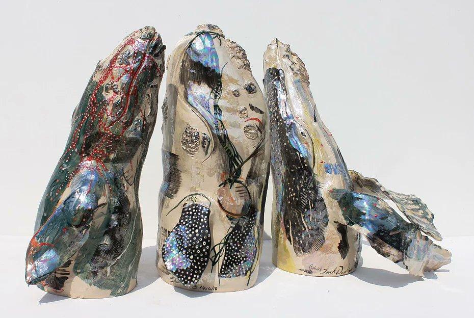Jack Durling -'Cloaked Cetacea'