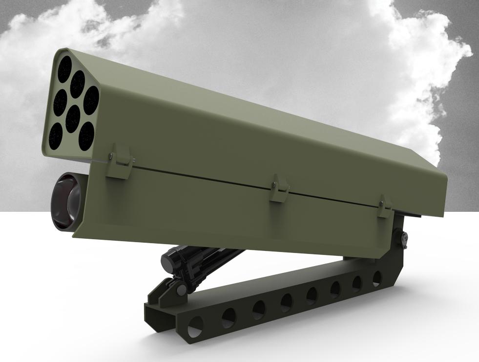 Combo rocket launcher 70mm and Javelin