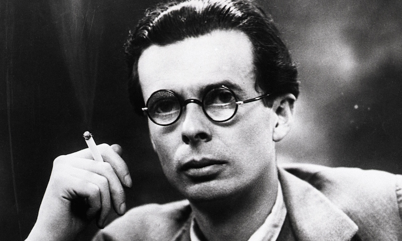 Aldous Huxley on doing things with lightness