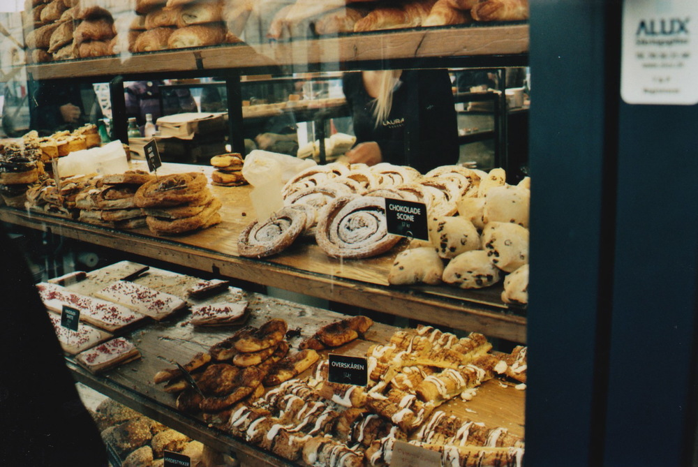 Amazing pastries in Copenhagen's Torvehallerne (food market), January 2013