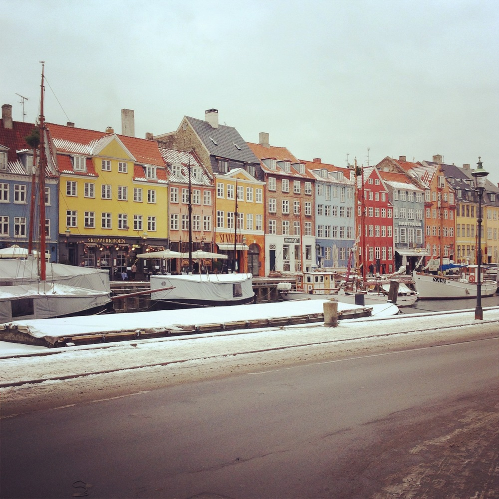 Copenhagen's Nyhavn, January 2013