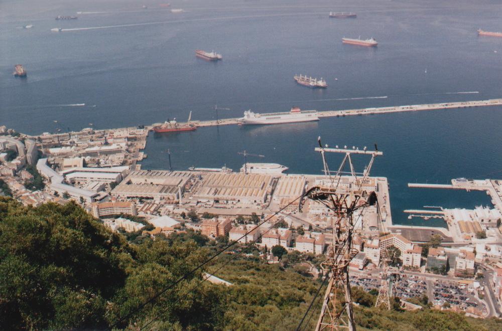 Gibraltar docks