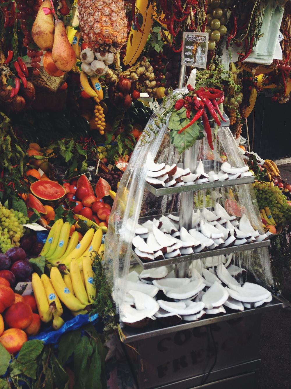 Fresh fruit, Rome