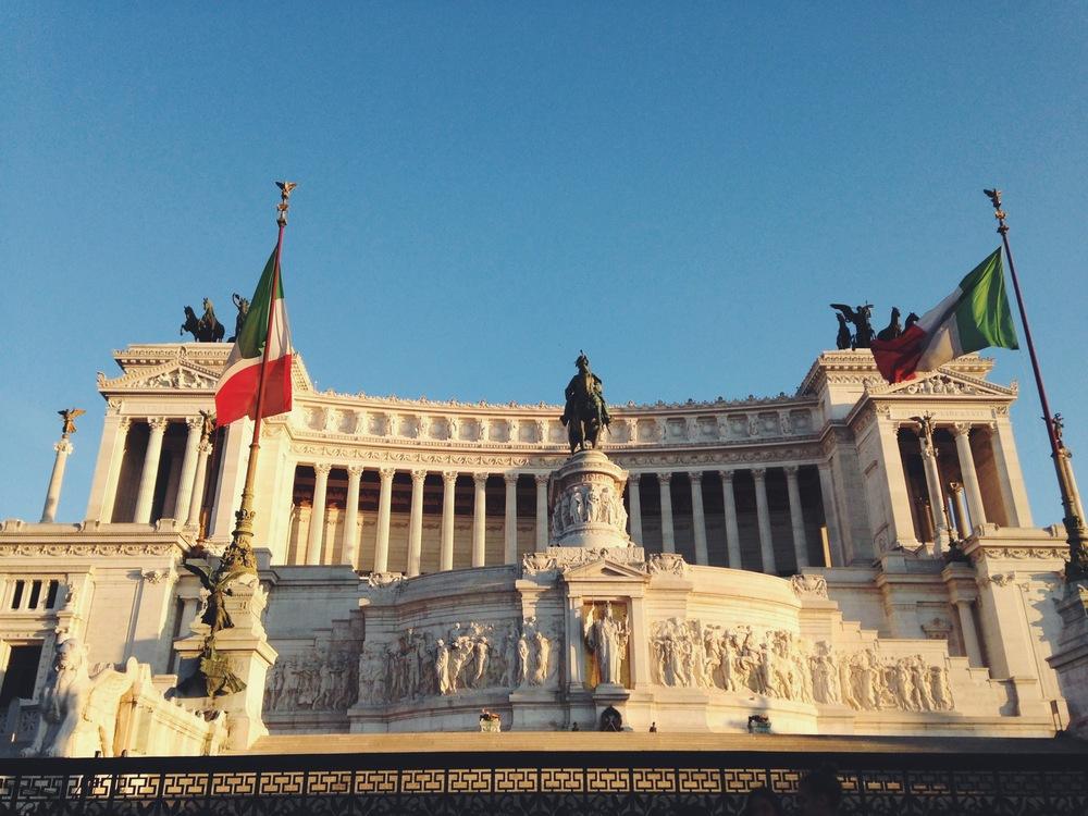 Vittorio Emanuele II, Rome