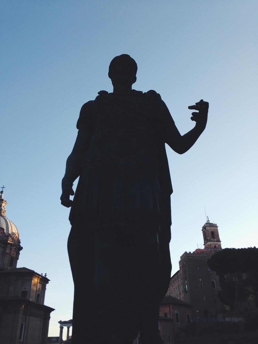 Julius Caesar, Rome