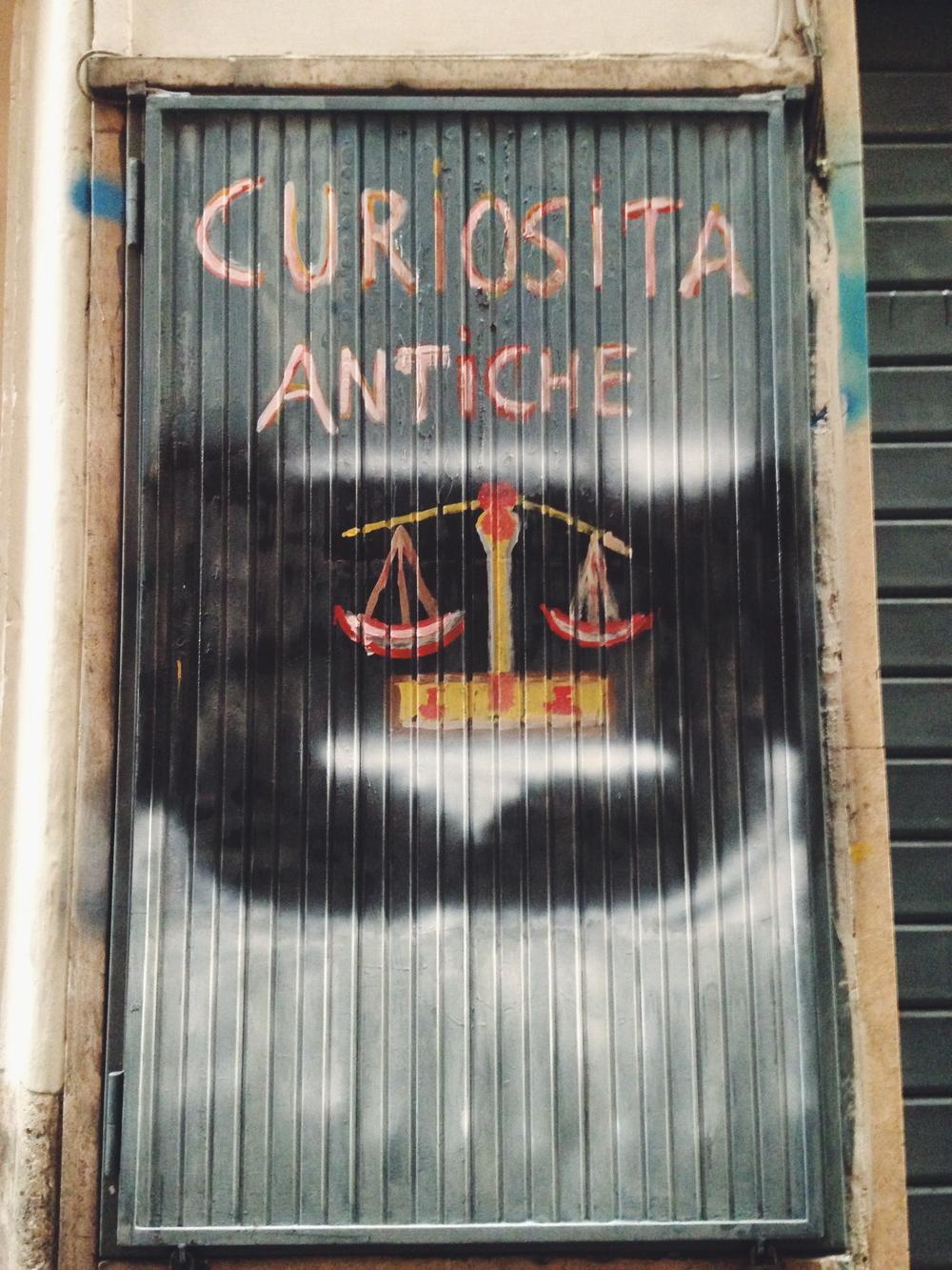 Antiques, Rome