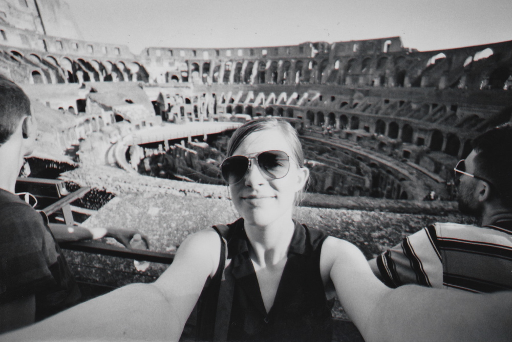 Selfie at the Colosseum, Rome