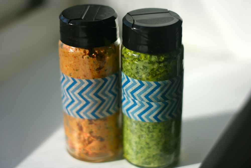 pesto sauce mother's day gift diy