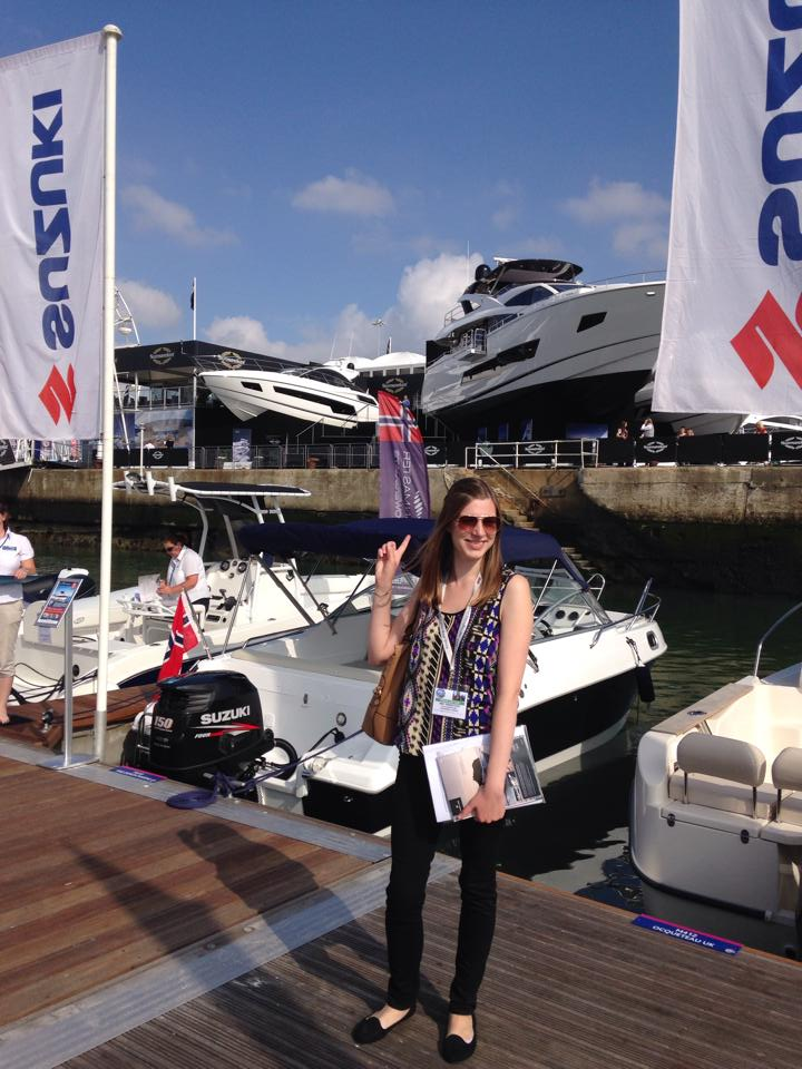 Slice of Sunny at the PSP Southampton Boat Show