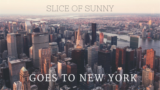 Slice of Sunny goes to New York