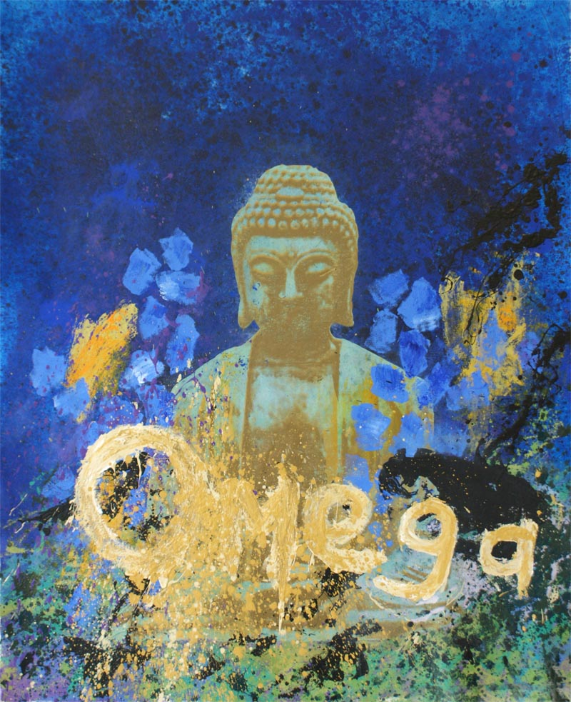 "Omega, 52""x62"", Original Painting"