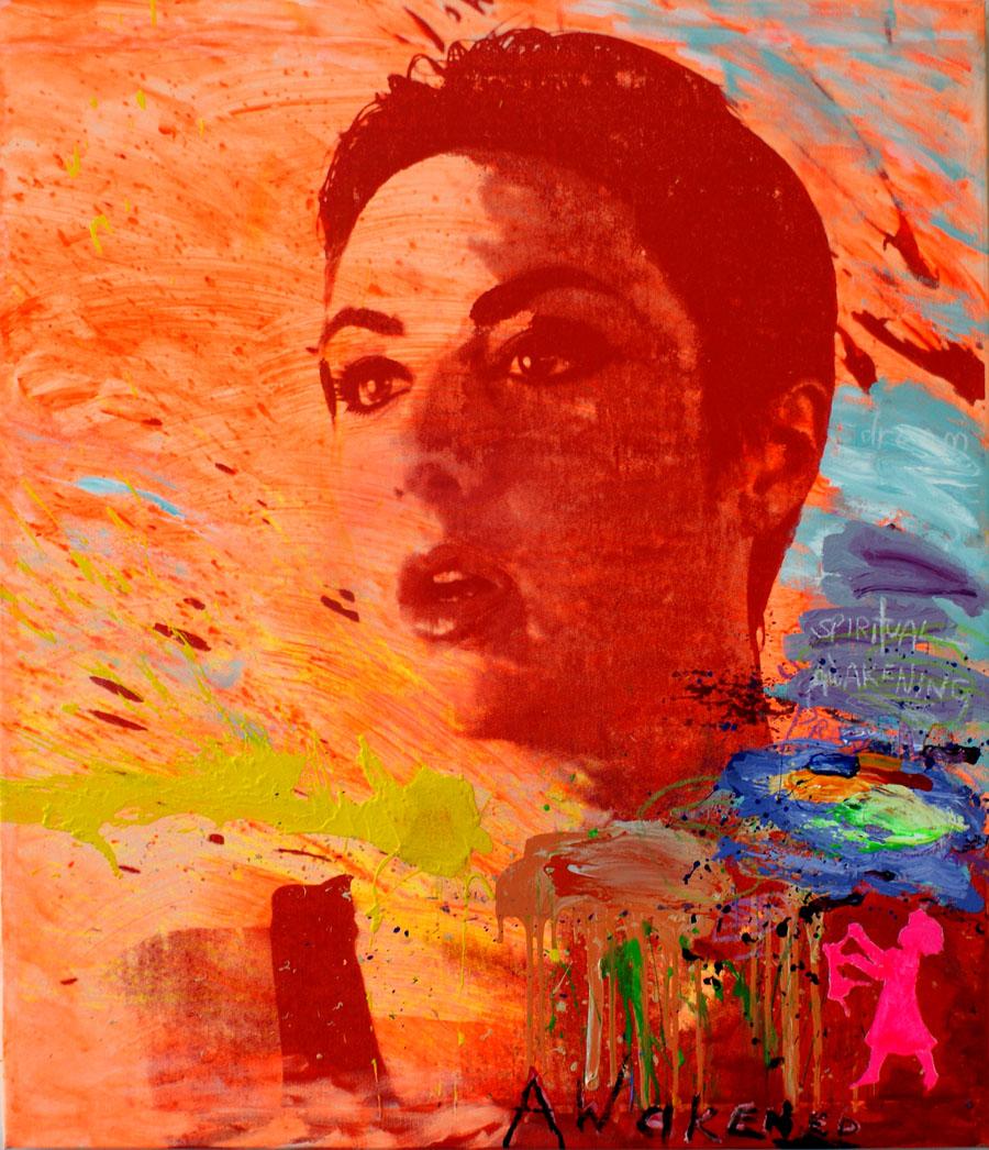 "Spiritual Awakening II, 36""x42"", Original Painting"