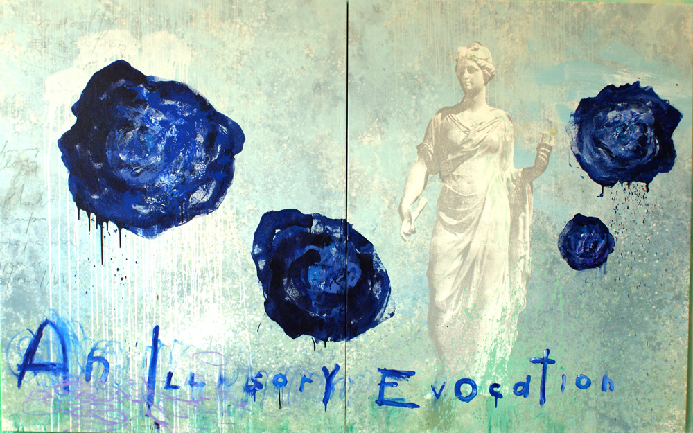 "Evocation, 63""x104"", Original Painting"