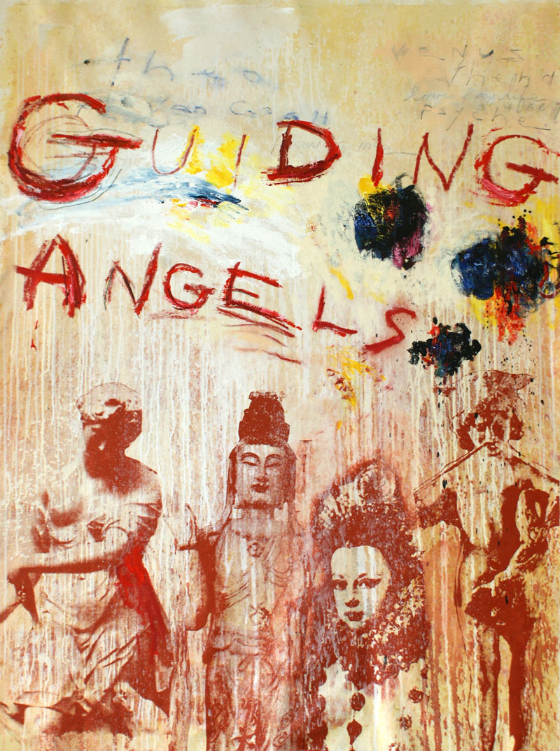 "Guiding Angels, 40""x60"", Original Painting"
