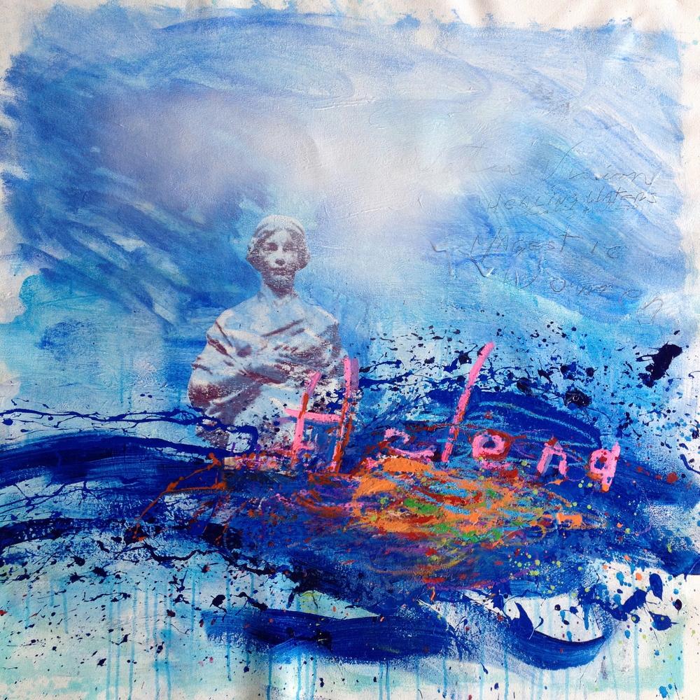 "Helena, 36""x35"", Original Painting"