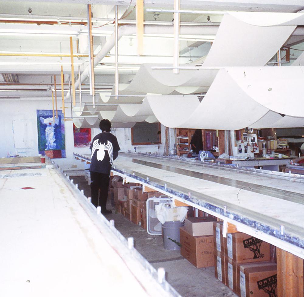 Our Stutz Building Studio circa the '90s.