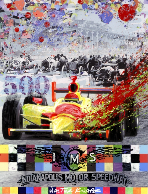 Indy 500 Poster 2010