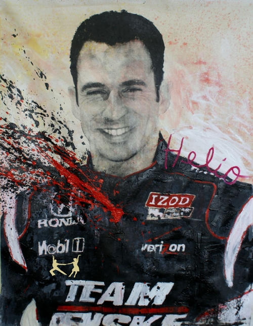 3 Time Indy 500 Winner - Helio Castroneves